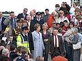Presidential arrival - geograph.org.uk - 821108.jpg