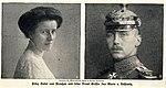 Prinz Oskar von Preußen und seine Braut Gräfin Ina Marie von Bassewitz, 1914.jpg