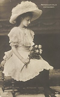 Princess Maria Alix of Saxony German princess