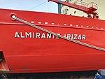 Proa del ARA Almirante Irízar (41584906454).jpg