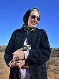 Prof. Anne Rasa, Kalahari Trails, Red Dune Route, Northern Cape, South Africa.jpg