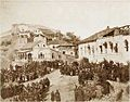 Promulgation of Manifesto of Emancipation the Peasant. Signakhi, Kakheti. 1864.jpg