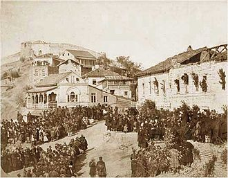 Georgia within the Russian Empire - The emancipation manifesto promulgated in Sighnaghi, 1864