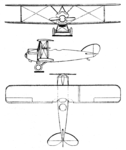 Proto S.E.T-2 3-view Le Document aéronautique March,1927.png