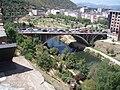 Puente de Ponferrada, visto desde el Castillo de la localidad.JPG