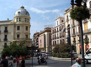 Granada travel guide at wikivoyage - Parking plaza puerta real en granada ...