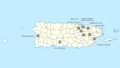 Puerto Rico Soccer League Teams Map.png
