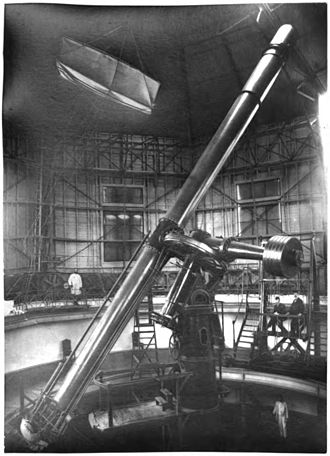 Pulkovo Observatory - The 30 inch (76 cm) refractor, installed in 1885, was one of the largest telescopes in the world at that time