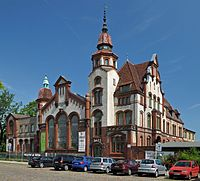 Puppet theater in a former power station building. Schwerin, Germany.jpg
