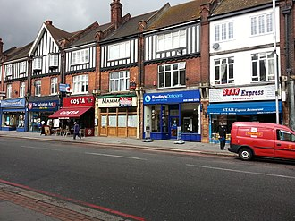 Purley, London - Shops in Purley