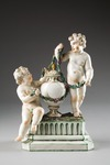 Putti med urna. Ludvigsburg. Tyskland - Hallwylska museet - 87075.tif