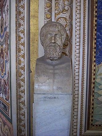Pythagoras - Bust of Pythagoras, Vatican Museum, Vatican City