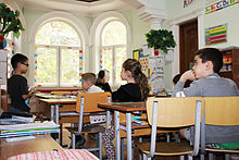 QSI Dushanbe students studying in one of the classrooms.jpg