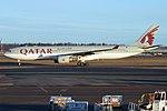 Qatar Airways, A7-AEB, Airbus A330-302 (33748227048).jpg