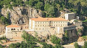 Kadisha Valley - Monastery of Qozhaya - July 2003