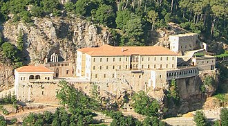 Kadisha Valley - Monastery of Qozhaya - July 2003