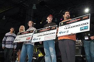 QuakeCon - Doom 3 tournament winners