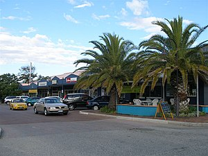 Mount Pleasant, Western Australia - Image: Queens Street shopping, Mount Pleasant, Western Australia, April 2006