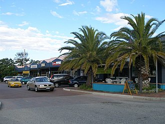 Mount Pleasant, Western Australia - Image: Queens Street shopping, Mount Pleasant, Western Australia, April 2006