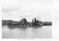 Queensland State Archives 4074 Dredges Brisbane River c 1949.png