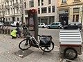 Réparation d'un Vélo'v à la station 3003, Boulevard Eugène Deruelle (Lyon).jpg