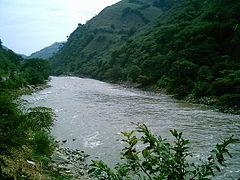 Río Cauca, atraviesa Antioquia de sur a norte