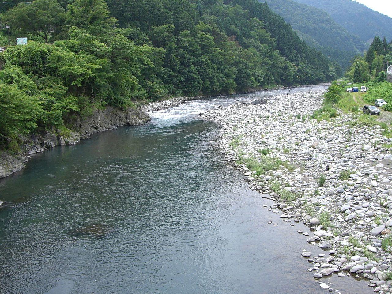 根尾川 2006年7月8日撮影