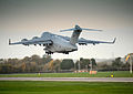 RAF C17 Carrying UK Aid to the Philippines MOD 45156428.jpg