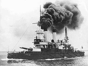 Admiral Ushakov-class coastal defense ship - Image: RUS Admiral Senyavin in 1901