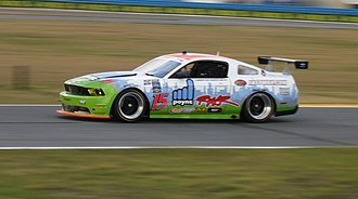 24 Hours of Daytona - Ford Mustang GT car during the 2012 Rolex 24