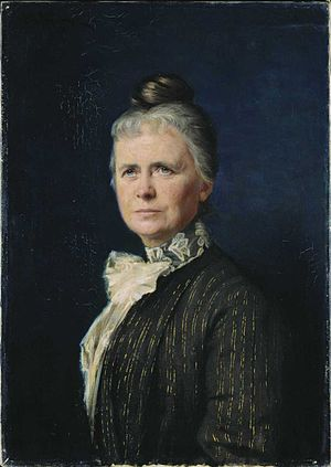 Ragna Nielsen - Portrait by Asta Nørregaard