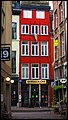Rainbow Flag on a Blood Red House - panoramio.jpg