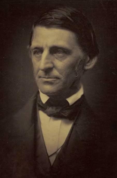 Ralph Waldo Emerson ca1857