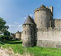 Ramparts of the historic fortified city of Carcassone 18.jpg