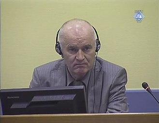 Ratko Mladić - Mladić in court, June 2011
