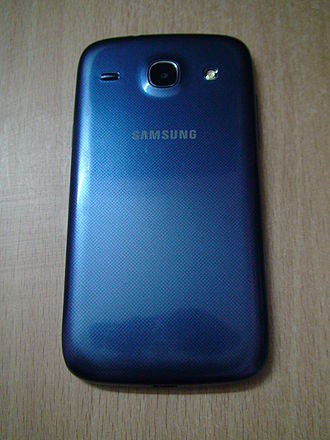 Samsung Galaxy Core - Rear View of Samsung Galaxy Core.