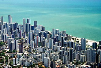 Largest cities of northeastern Brazil - Recife