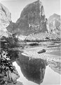 Reflected tower. Rio Virgin, Utah. Angels Landing. Same as 73 but on 5x7. - NARA - 517747.tif