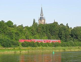 Berlin–Dresden railway railway line in Germany