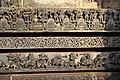 Relief Sculptures in the basement Hoysaleswara Temple Halebid.jpg