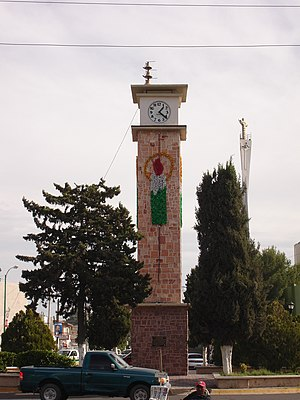 Delicias, Chihuahua - The city clock tower