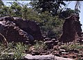 Remains of a stone-walled house at the deserted hilltop defensive site of Yagala, Sierra Leone (West Africa) (402076517).jpg
