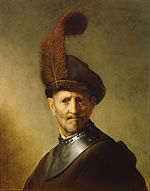 Rembrandt Harmensz. van Rijn (Dutch - An Old Man in Military Costume - Google Art Project.jpg