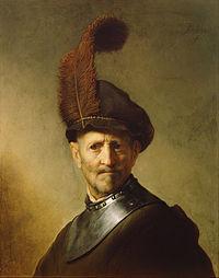 Rembrandt Harmensz. van Rijn (Dutch - An Old Man in Military Costume - Google Art Project.jpg