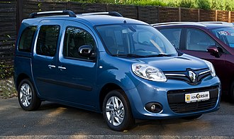 Minivan - Renault Kangoo, a current LAV