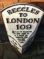 Replica Milepost - geograph.org.uk - 1089546.jpg