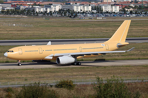 Republic of Singapore Air Force Airbus A330 MRTT at Toulouse