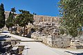 Retaining wall at the Theatre of Dionysus on July 30, 2020.jpg