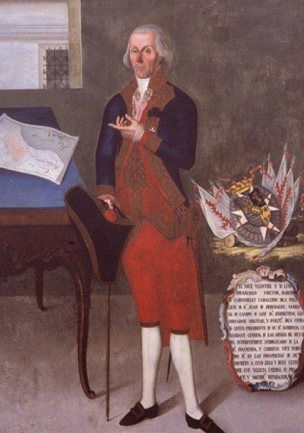 Retrato del Barón de Carondelet - Anónimo (siglo XIX)