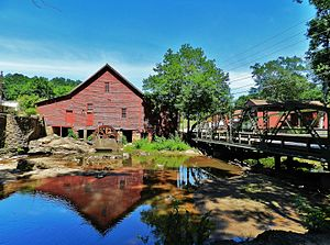 National Register of Historic Places listings in Clayton County, Georgia - Image: Rex Mill